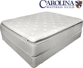 Mattresses and Bedding-Hotel Supreme Pillow Top Queen Mattress/Boxspring Set
