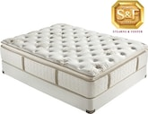 "Mattresses and Bedding-""R"" Series Luxury Plush EPT Queen Mattress/Boxspring Set"