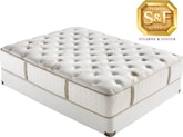 "Mattresses and Bedding-""C"" Series Luxury Firm Queen Mattress/Boxspring Set"