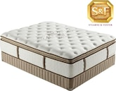 "Mattresses and Bedding-Luxury Estate ""N"" Series Luxury Plush Pillow Top Queen Mattress/Boxspring Set"