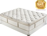 "Mattresses and Bedding-""C"" Series Luxury Plush EPT Twin Mattress/Boxspring Set"