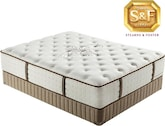 "Mattresses and Bedding-Luxury Estate ""L"" Series Luxury Plush King Mattress/Boxspring Set"