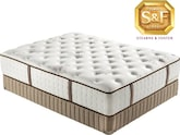 "Mattresses and Bedding-Estate Collection ""S"" Series Luxury Plush King Mattress/Boxspring Set"