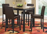 Keystone II 5 Pc. counter-Height Dinette Only $229 - Furniture.com