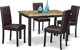 Dining Room Furniture-Keystone 5 Pc. Dinette