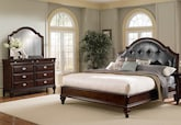 Bedroom Furniture-Dover 5 Pc. King Bedroom