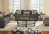 Living Room Furniture-The Harlow Collection-Harlow Sofa