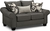 Living Room Furniture-Harlow Loveseat