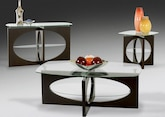 Cocktail Table, End Table and Sofa Table - Furniture.com -Palisades Occasional Collection Furniture