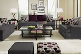 Living Room Furniture-The Berkeley Pewter Collection-Berkeley Pewter Sofa