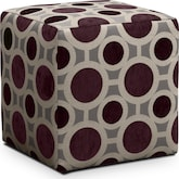 Living Room Furniture-Berkeley Cube Ottoman