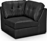 Living Room Furniture-Largo Black Wedge