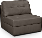 Living Room Furniture-Aventura III Armless Chair