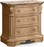 Bedroom Furniture-Lafayette Almond Nightstand