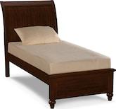 Kids Furniture-Laurel II Cherry Twin Bed