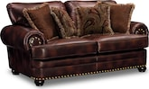 Living Room Furniture-Leopold Loveseat