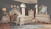 Bedroom Furniture-The Velasquez Linen Collection-Velasquez Linen Queen Bed