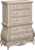 Bedroom Furniture-Velasquez Linen Chest