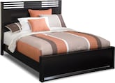 Bedroom Furniture-Kendall Espresso Queen Bed