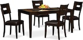 Dining Room Furniture-Blake 5 Pc. Dinette