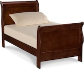 Kids Furniture-Avignon II Cherry Twin Bed