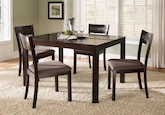 Casa Moda 5 Pc. Dinette Only $299 - Furniture.com