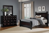 Bedroom Furniture-Landon 5 Pc. King Bedroom