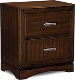 Bedroom Furniture-Claremont Nightstand