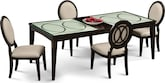 Dining Room Furniture-Stewart 5 Pc. Dining Room