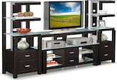 Entertainment Furniture-The Coopersville Collection-Coopersville Audio Pier
