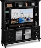 Entertainment Furniture-Hobson 2 Pc. Entertainment Wall Unit