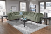 New Living Room Collection - Furniture.com - Solace Spa II Sectional