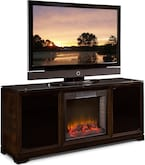 Entertainment Furniture-Stokes Fireplace TV Stand