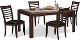 Dining Room Furniture-Hillsboro 5 Pc. Dinette