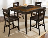 Dining Room Furniture-The Cyprus II Collection-Cyprus II Counter-Height Table
