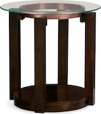 Accent and Occasional Furniture-Kirkland End Table