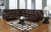 Living Room Furniture-The Garrett Brown Collection-Garrett Brown 2 Pc. Sectional