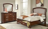 Bedroom Furniture-Hawthorne 5 Pc. King Storage Bedroom