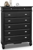 Kids Furniture-Magnolia Black Chest