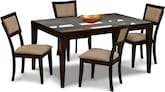 Chicago 5 Pc. Dinette Only $499 - Furniture.com