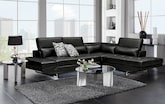 Living Room Furniture-The Madrid II Collection-Madrid II 2 Pc. Sectional