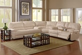 Living Room Furniture-The Coronado Collection-Coronado 3 Pc. Power Reclining Sectional