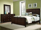 Bedroom Furniture-Mosaic 5 Pc. Queen Bedroom