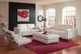 Living Room Furniture-The Mirage White Collection-Mirage White Sofa