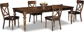 Dining Room Furniture-Montvale 5 Pc. Dinette