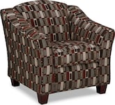 Living Room Furniture-Monarch Accent Chair