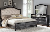 Bedroom Furniture-Hayworth 5 Pc. King Bedroom