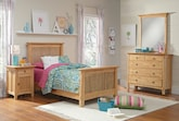 Kids Furniture-The Wentworth II Light Collection-Wentworth II Light Twin Bed