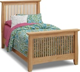 Kids Furniture-Wentworth II Light Twin Bed