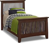 Kids Furniture-Wentworth II Dark Full Bed